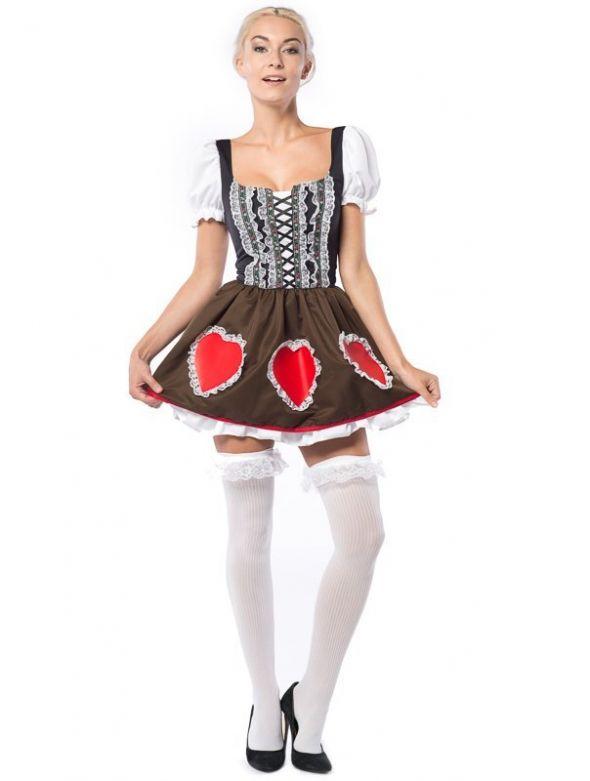 Dirndl Heidi Heart