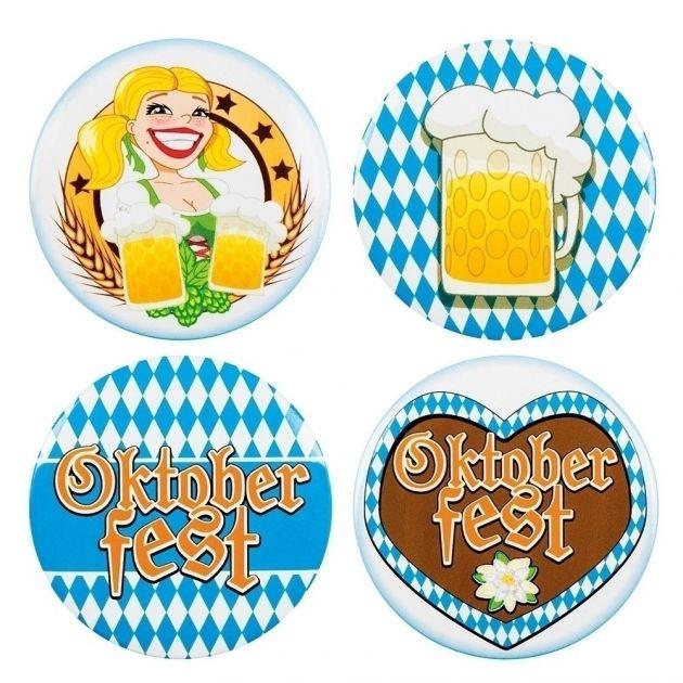 4 Buttons Oktoberfest