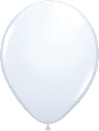 Ballonnen wit 100 stuks
