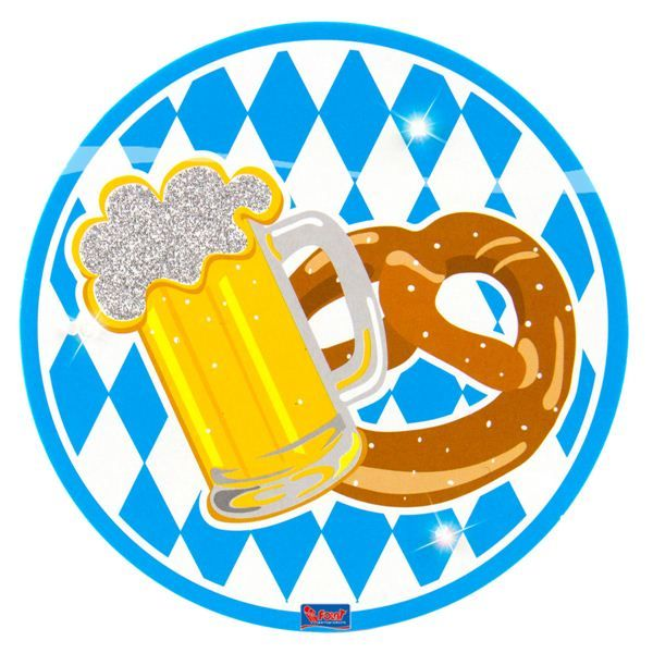 LED Partybutton Oktoberfest
