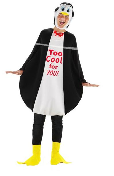 Apres-ski Pinguin kostuum 3-delig (One-Size)