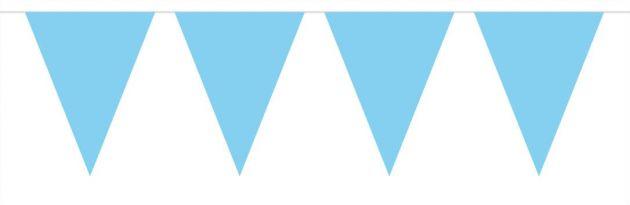 vlaggenlijn blauw 10 meter