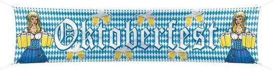 Straat Banner Oktoberfest (40 x 180 cm)