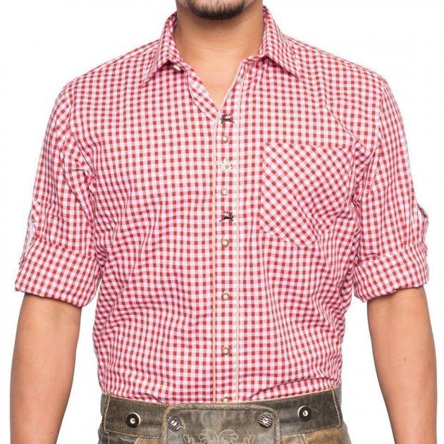 Trachtenhemd Oscar Rood