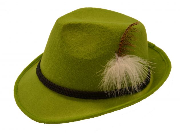 Jagershoedje Tirol (licht groen) / One_Size