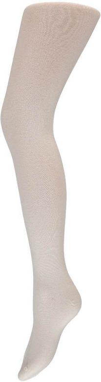 Ladies Tights Plain Cotton White