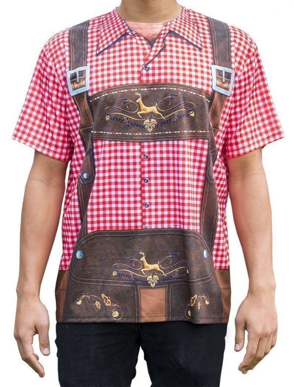 Lederhose T-shirt traditional / L