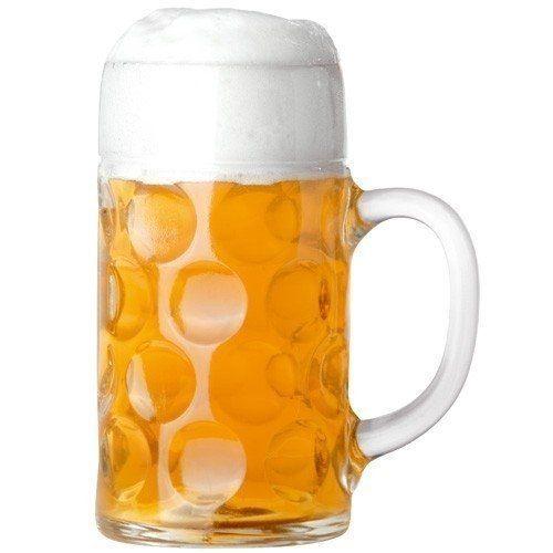 Bierglas Oktoberfest Isarseidel 1L